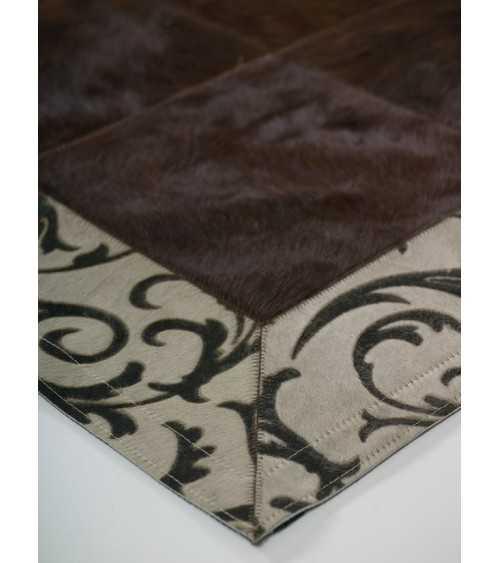 laser brown beige border